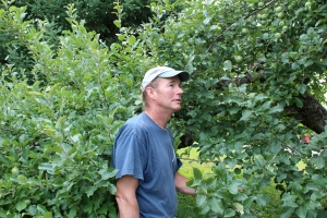 Evan Darrow, Green Mountain Orchards, Putney, Vermont (photograph by Bar Lois Weeks)