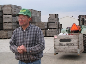Jim Hill, Hill Brothers Orchard, Alpine Township, Michigan (photograph by Russell Steven Powell)